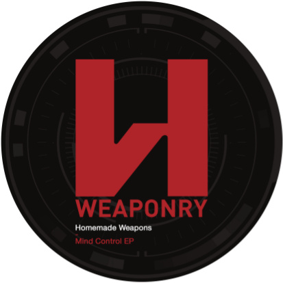Homemade Weapons 'Mind Control' EP (Downloads)