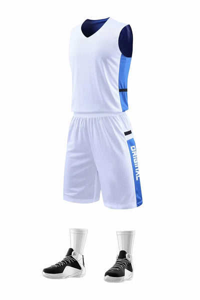 Universal Jersey 2020 New Double-Sided Men'S Basketball Jerseys Men And Women Suits Team Uniforms Student Competition Suits Basketball Training Uniforms Team Uniforms Red/White/Blue/Black/Pink