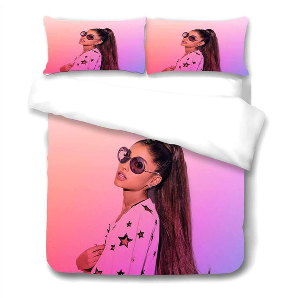 Best Bedding Set Ariana Grande 3PCS Duvet Cover Set For Twin/Full/Queen/King/California King Store 09