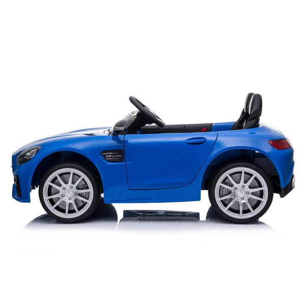 Cool Electric Kids Cars Traffic Toys Cars Car LZ-920 Dual Drive 35W*2 Battery 12V 2.4G Remote Control Blue Free Shipping Us Warehouse