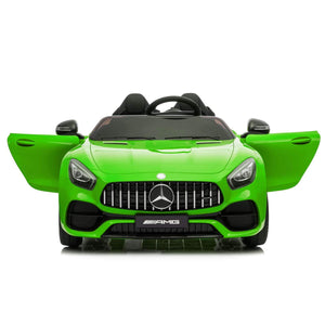 Discount Electric Kids Cars Traffic Toys Cars Car LZ-920 Dual Drive 35W*2 Battery 12V 2.4G Remote Control Green Free Shipping Us Warehouse