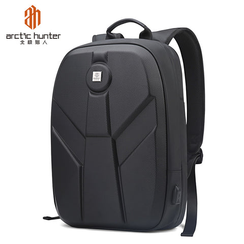 New 2020 Fashion Concise Multifunction Outdoor Adventure Hiking Backpack Travel Bag Hard Shell With Usb Charge Backpack Bag