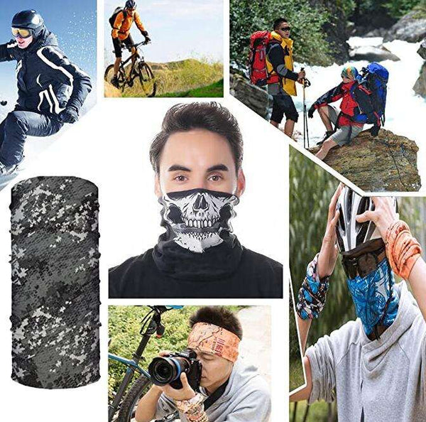 1Pcs Magic Wide Wicking Headbands Outdoor Headwear Bandana Sports Scarf Tube UV Face Mask for Workout Yoga   Running Hiking Riding Motorcycling