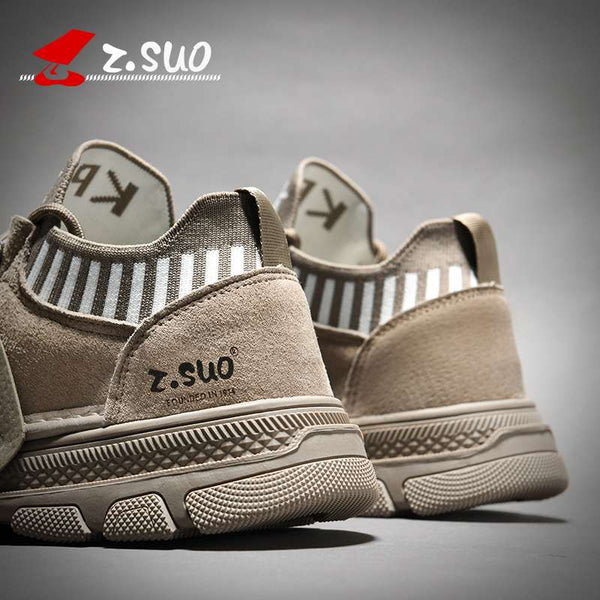 2020 new trend spring shoes men's tide shoes casual wild men's Martin shoes tooling shoes outdoor shoes Khaki 39-44