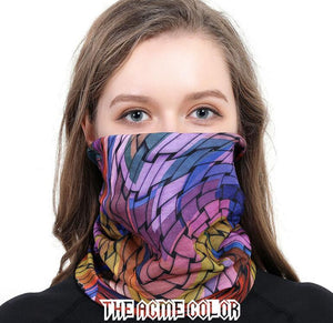The Acme Color Seamless Face Mask Bandanas for Dust, Outdoors, Festivals, Sports Fan Headbands Men's Costume Masks