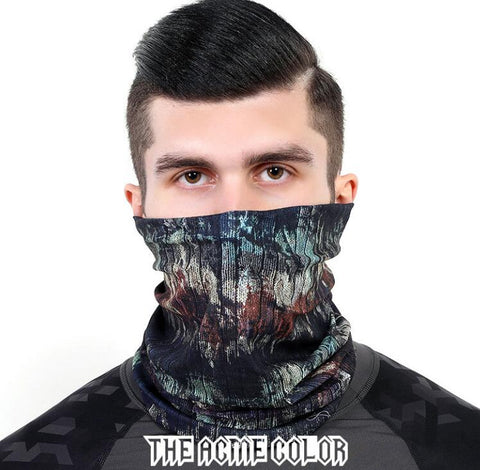 The Acme Color Seamless Face Mask Bandanas for Dust,Outdoors,Festivals, Sports,Paintball Masks