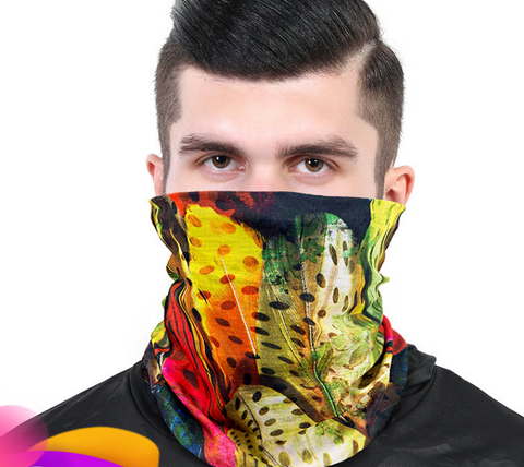The Acme Color 2020 New Balaclavas Sunscreen Magic Headscarf Sports Men'S And Women'S Ever-Changing Bibs Fishing Mountaineering Trip Riding Mask Collar Full Face Summer Thin Face Towel Free Shipping