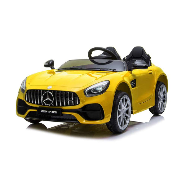Fashion Electric Kids Cars Traffic Toys Cars Car LZ-920 Dual Drive 35W*2 Battery 12V 2.4G Remote Control Yellow Free Shipping Us Warehouse