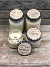 Load image into Gallery viewer, Banana Nut Bread ~ Hand Poured 100% Soy Wax Wooden Wick Candles