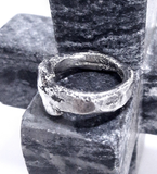 Brutalist Sterling Ring
