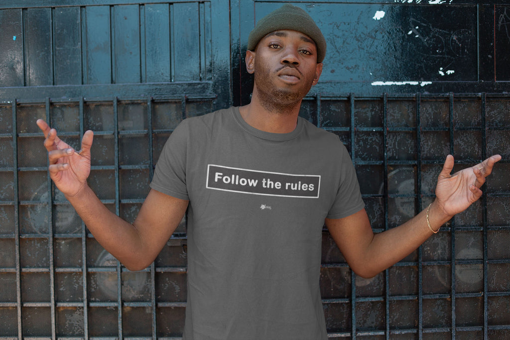 Social distancing t-shirt- Follow the rules