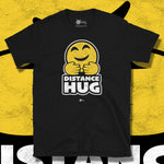 Load image into Gallery viewer, Go Viral Tees - Social Distancing T-Shirts - Distance Hug - Black