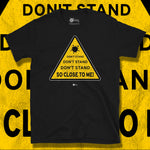 Load image into Gallery viewer, Go Viral Tees - Social Distancing T-Shirts - Don't Stand So Close To Me - Black