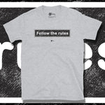 Load image into Gallery viewer, Go Viral Tees - Social Distancing T-Shirts - Follow The Rules - Sport Grey