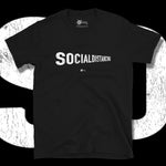 Load image into Gallery viewer, Go Viral Tees - Social Distancing T-Shirts - Social Distancing Perspective - Black