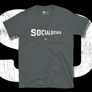 Go Viral Tees - Social Distancing T-Shirts - Social Distancing Perspective - Dark Heather