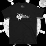 Load image into Gallery viewer, Go Viral Tees - Social Distancing T-Shirts - Go Viral - Black