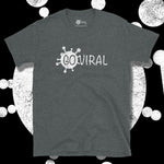 Load image into Gallery viewer, Go Viral Tees - Social Distancing T-Shirts - Go Viral - Dark Heather
