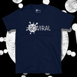 Load image into Gallery viewer, Go Viral Tees - Social Distancing T-Shirts - Go Viral - Navy