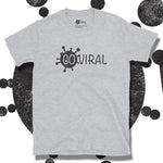 Load image into Gallery viewer, Go Viral Tees - Social Distancing T-Shirts - Go Viral - Sport Grey
