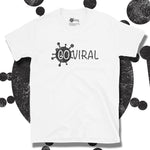 Load image into Gallery viewer, Go Viral Tees - Social Distancing T-Shirts - Go Viral - White
