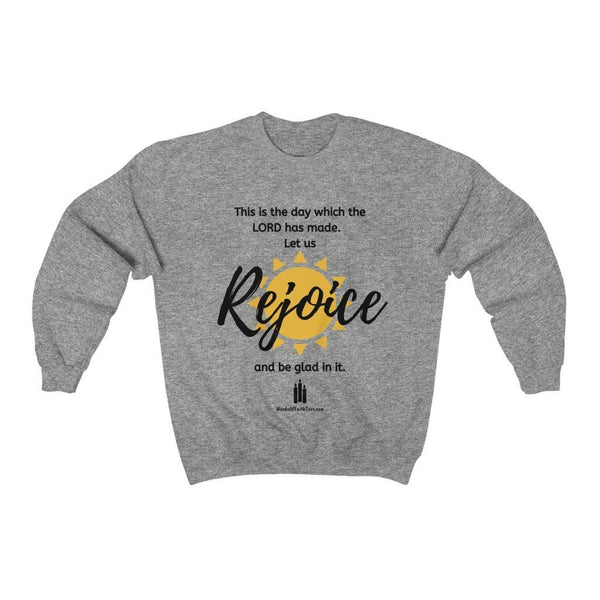 This Is the Day Which the Lord Has Made - Heavy Blend™ Crewneck Sweatshirt - Words of Faith Tees