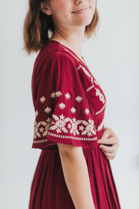 The Lola Embroidered Dress