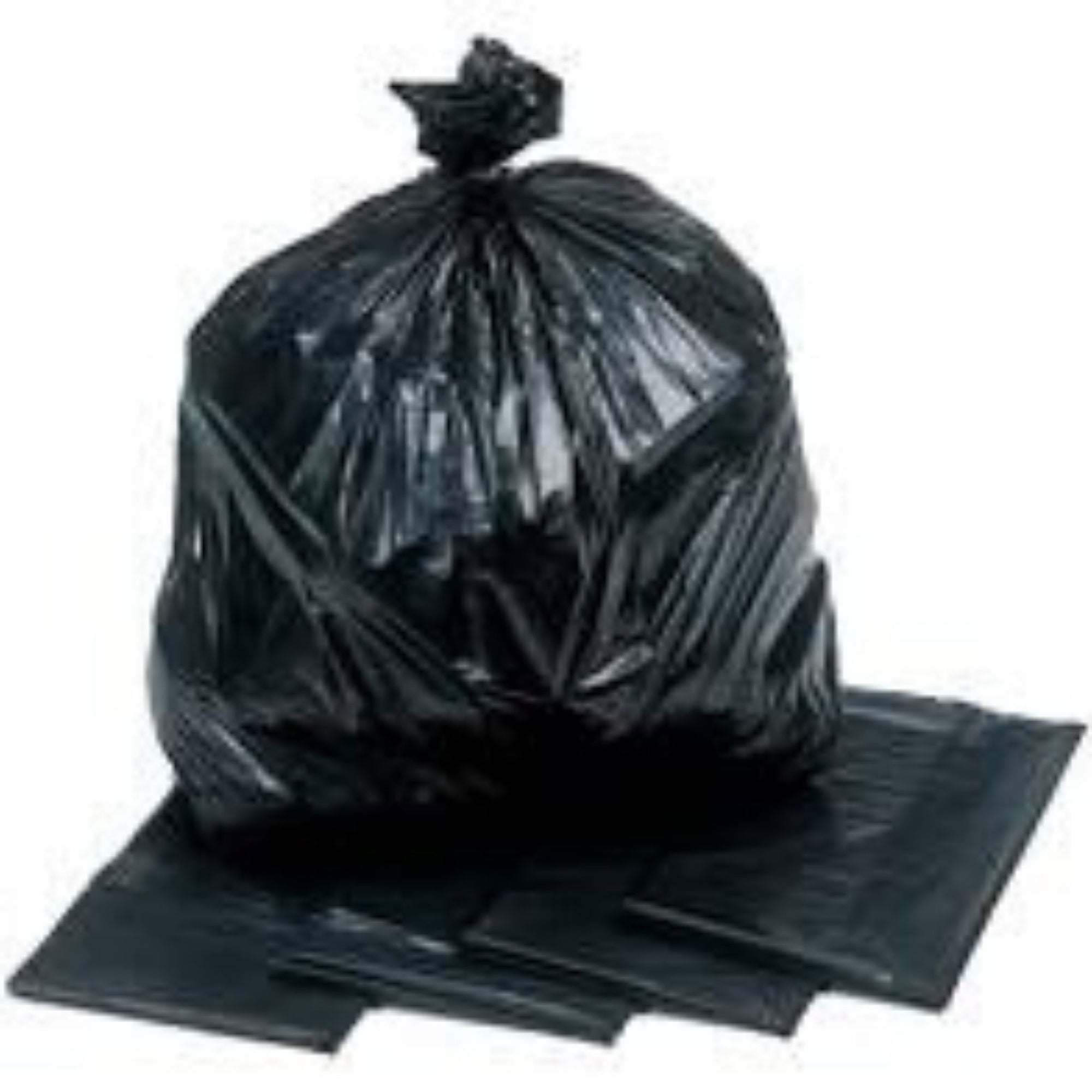 Black Bin Bags Heavy Duty (200/Pkt) - Asian Harvest