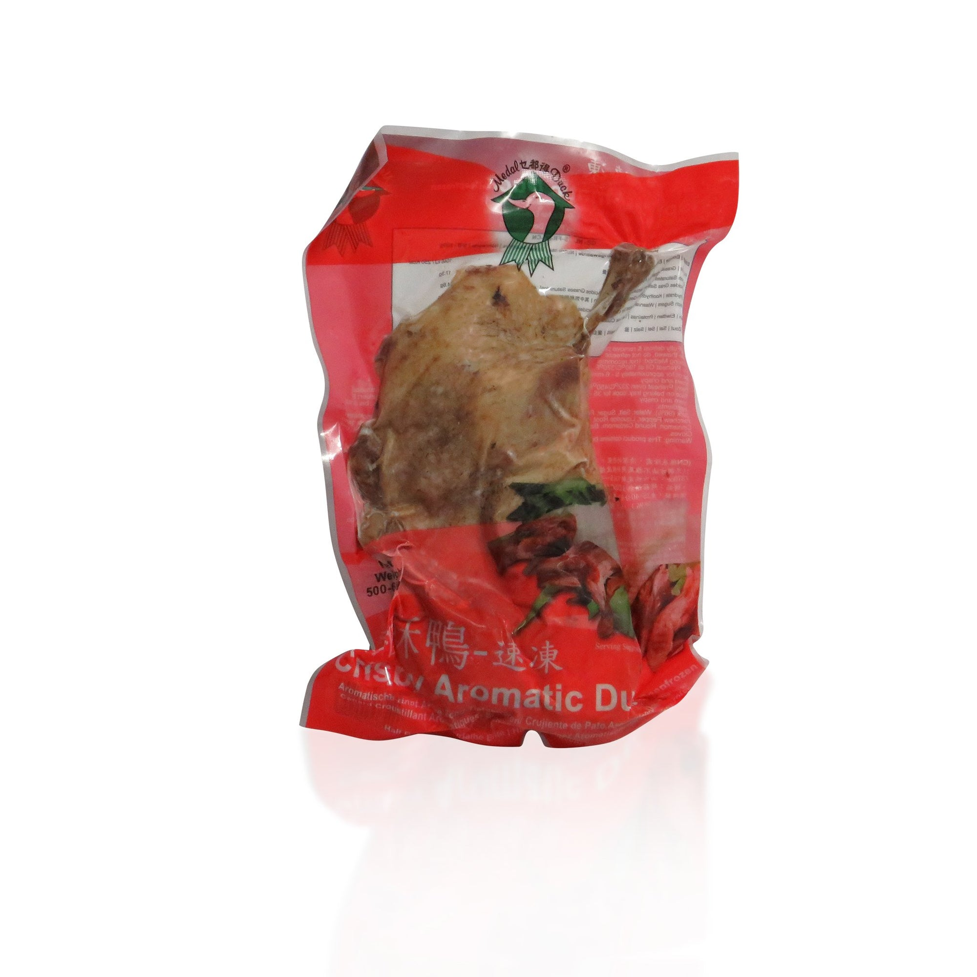 Medal Frozen Aromatic Cooked Duck Halves 550G - Asian Harvest