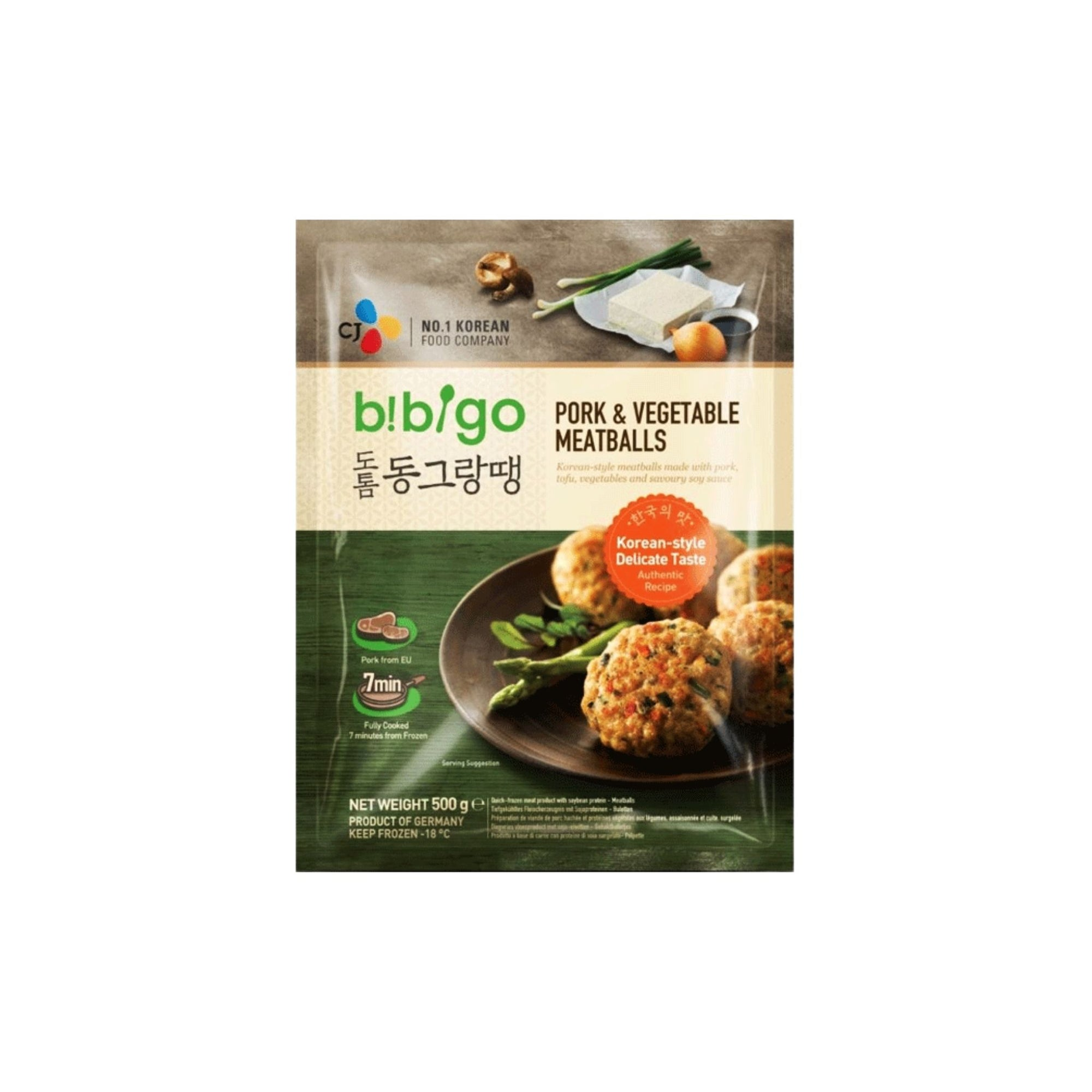 Bibigo Korean Pork and Veg Meatballs