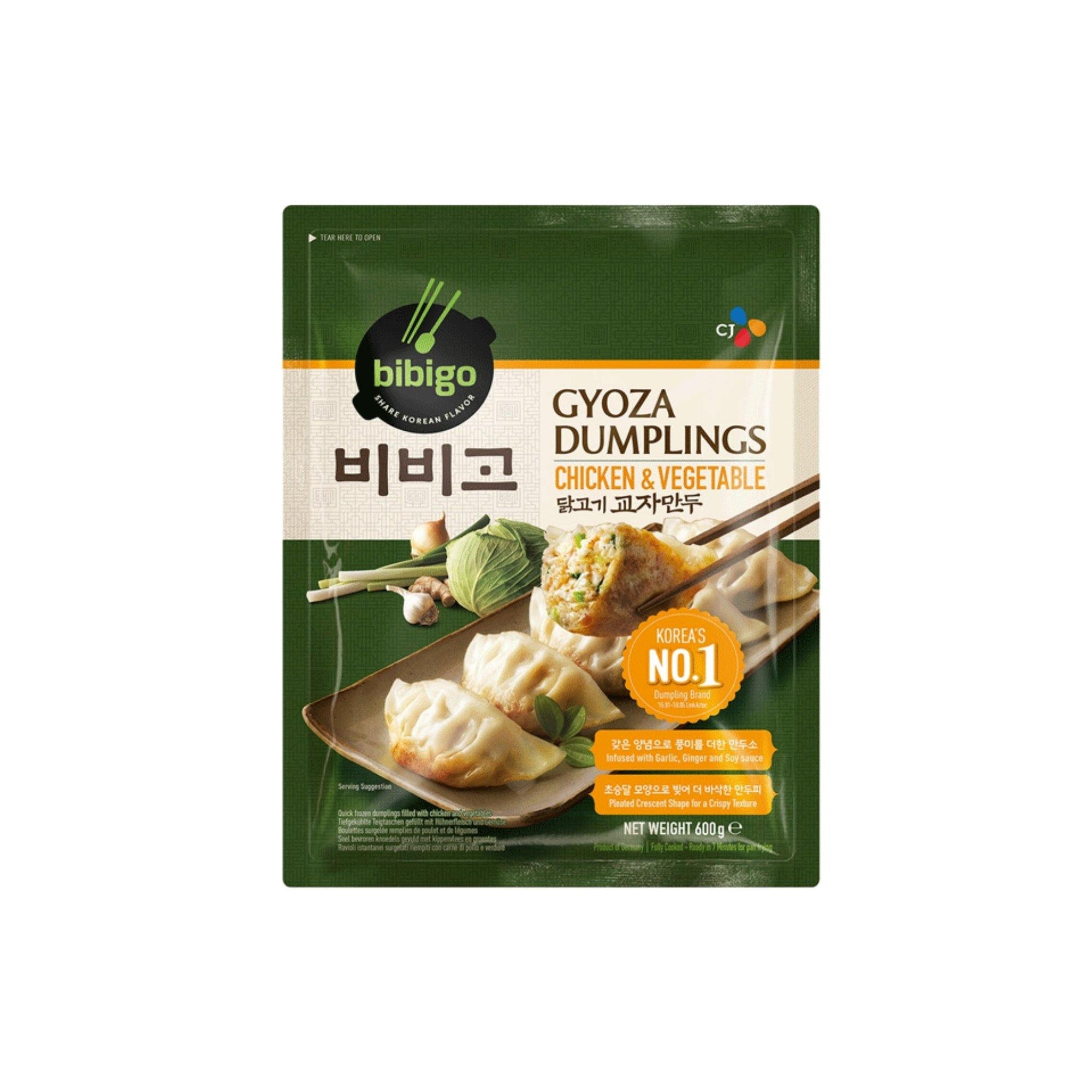 Bibigo Chicken and Veg Gyoza Dumpling 600G - Asian Harvest