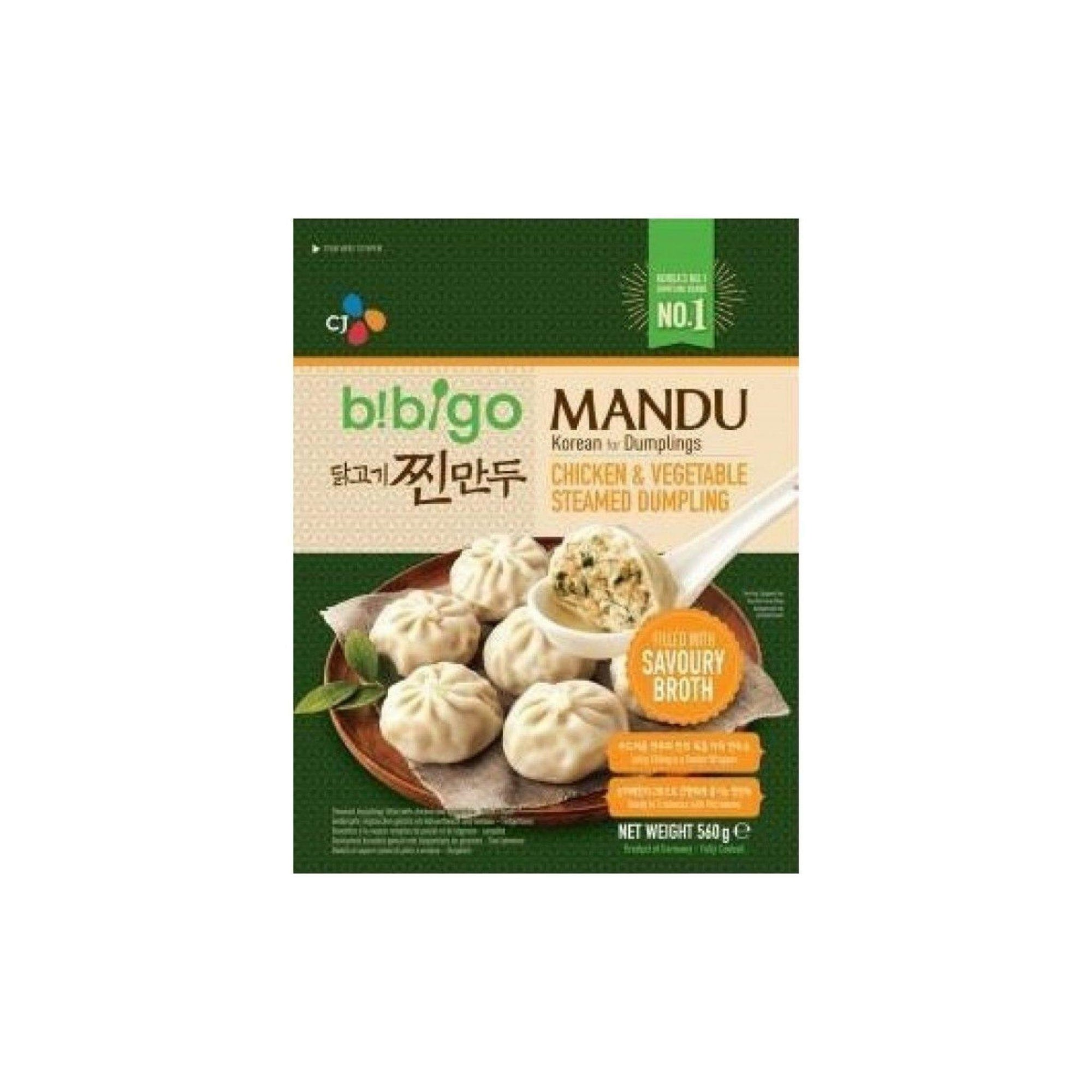 Bibigo Chicken and Veg Steamed Dumpling 560G - Asian Harvest