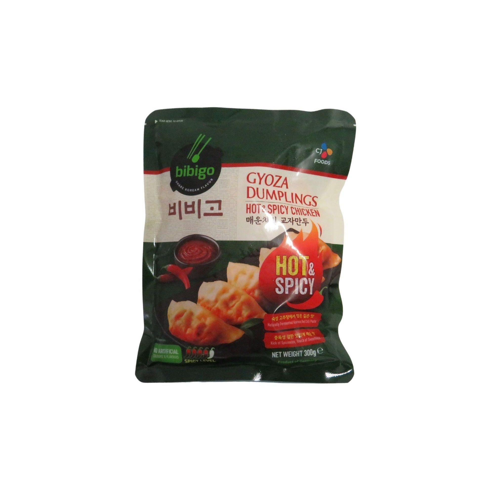 Bibigo Hot and Spicy Chicken Gyoza Dumpling 300G - Asian Harvest