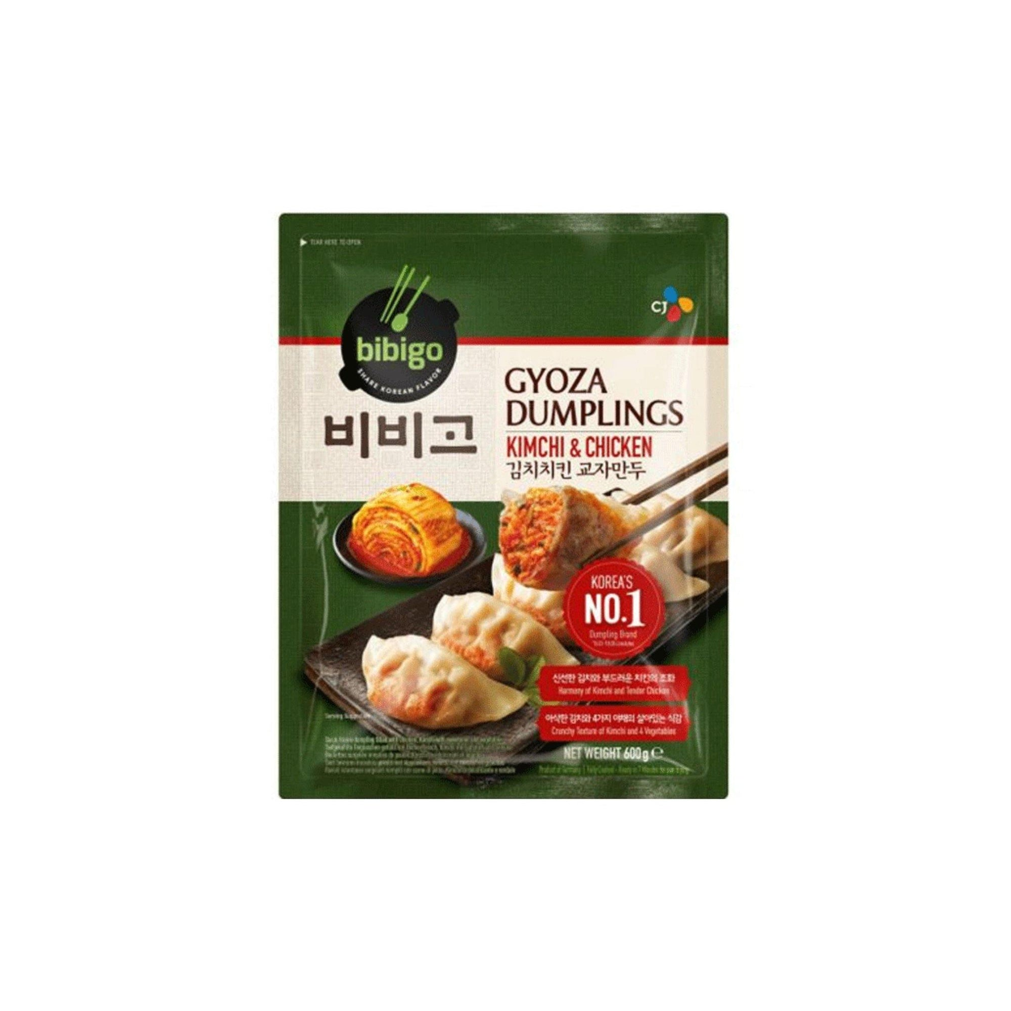 Bibigo Kimchi and Chicken Gyoza Dumpling 600G - Asian Harvest