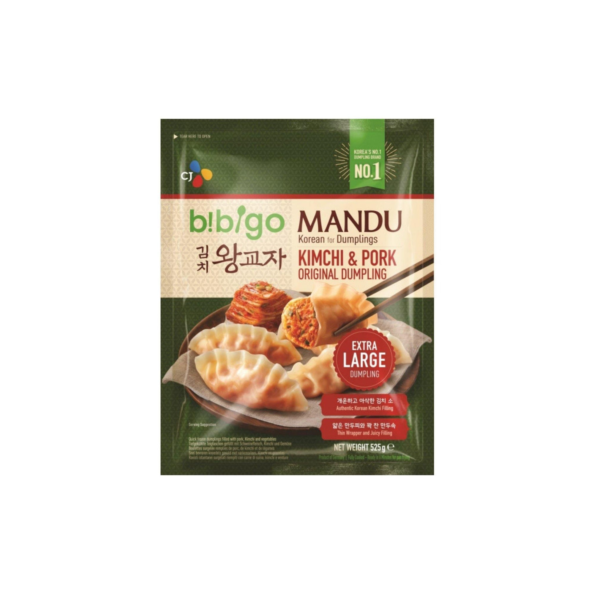 Bibigo Kimchi and Pork Dumpling 525G - Asian Harvest