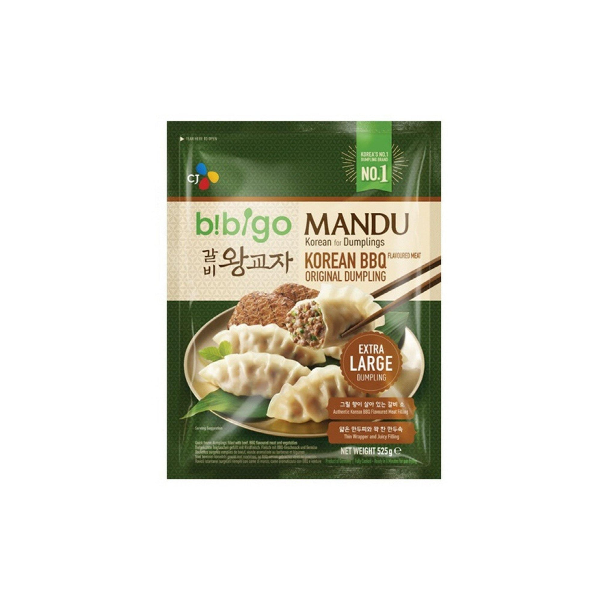 Bibigo Korean BBQ Dumpling 525G - Asian Harvest