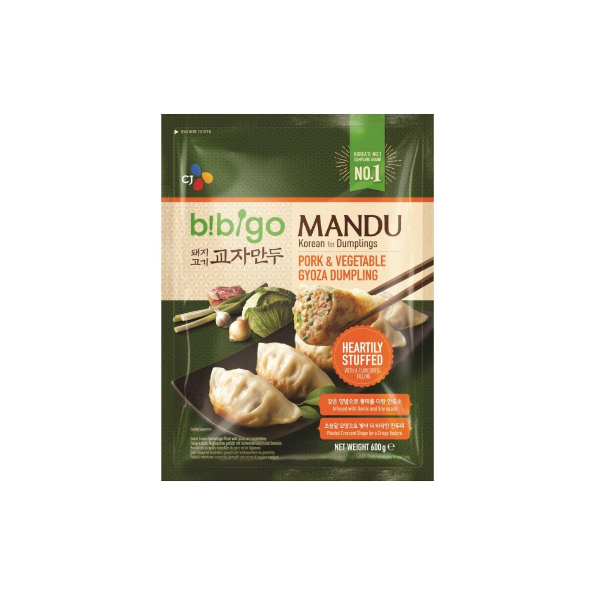 Bibigo Pork and Veg Gyoza Dumpling 600G - Asian Harvest