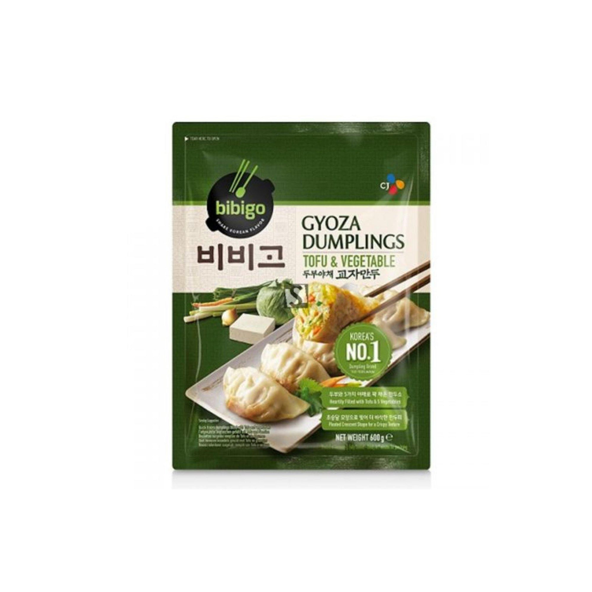 Bibigo Tofu and Veg Gyoza Dumpling 600G - Asian Harvest