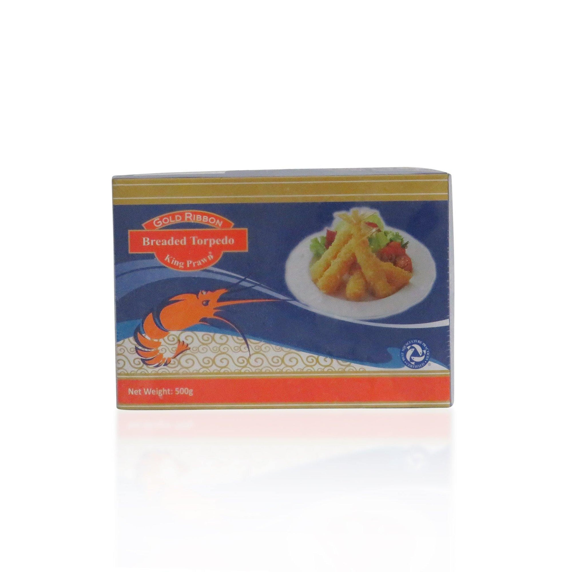 Breaded Torpedo Prawns 500G - Asian Harvest