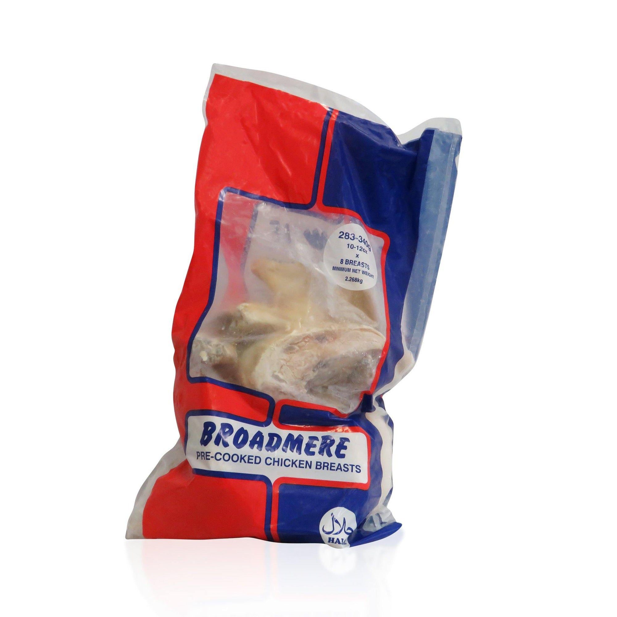 Broadmere Cooked Chicken Breast Portions 2.5KG - Asian Harvest