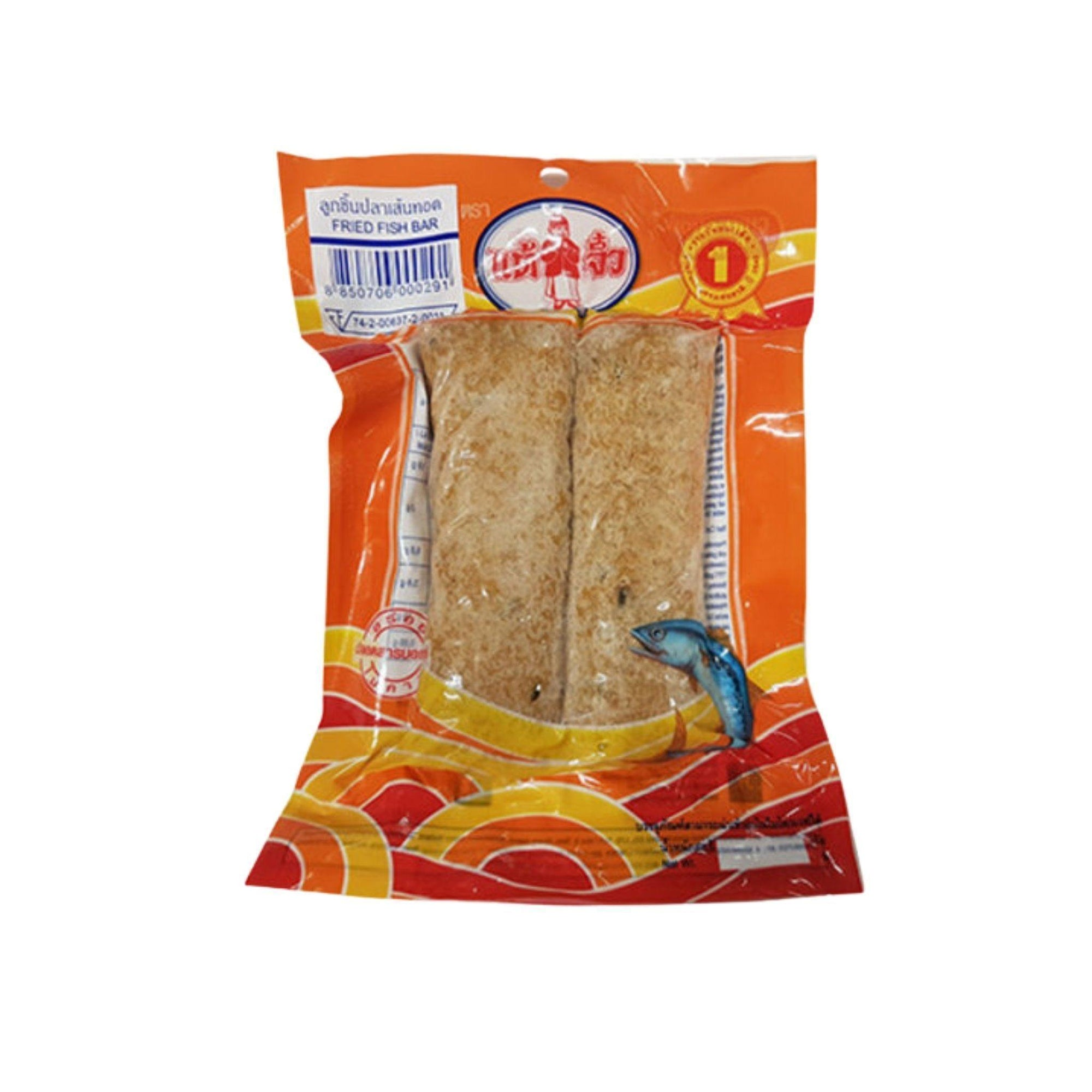 Chiu Chow Frozen Reformed Fish Bar 200G - Asian Harvest
