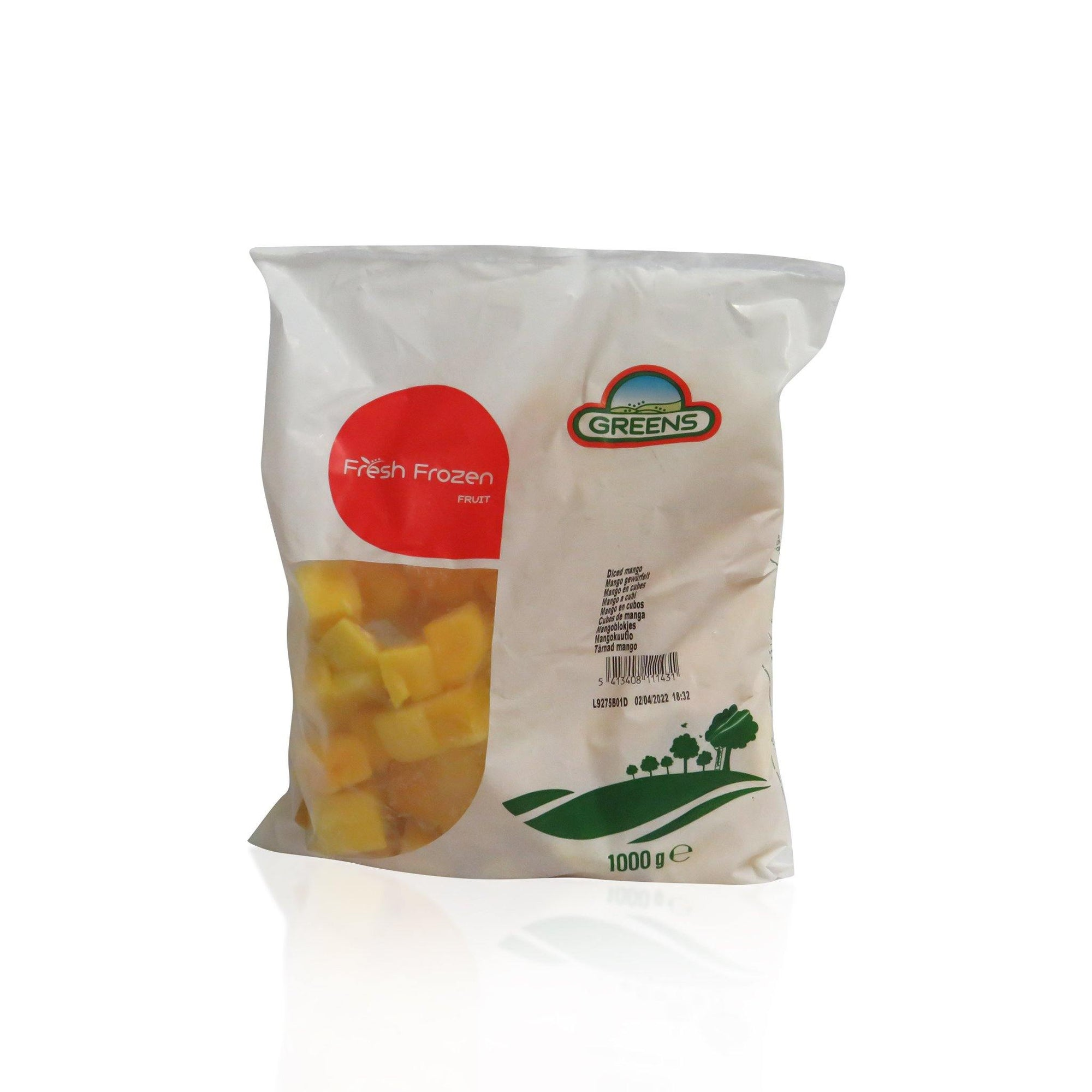 Frozen Diced Mango 1KG - Asian Harvest