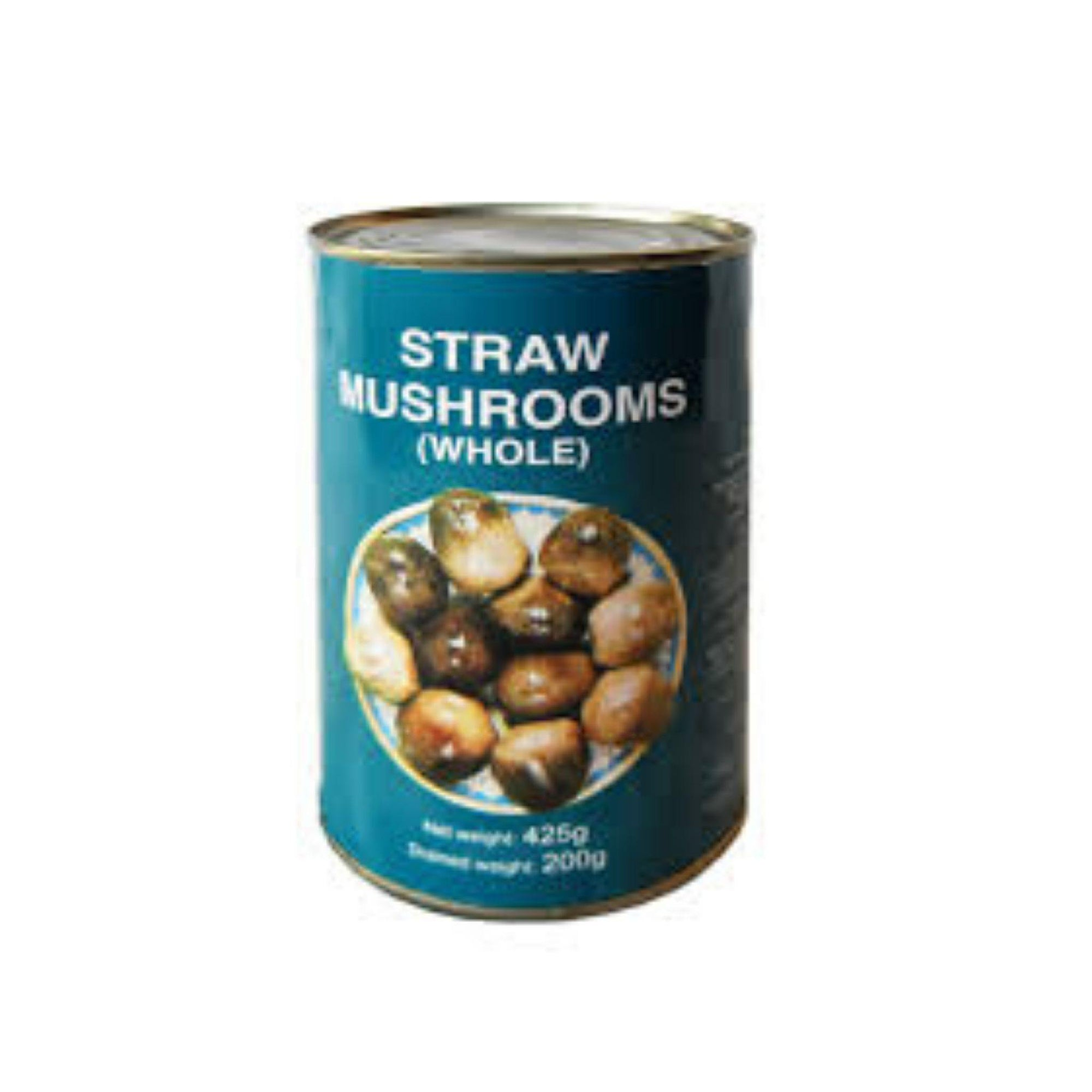 Global Harvest Tinned Straw Mushrooms 425G - Asian Harvest