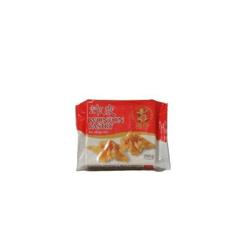 Happy Boy Wonton Pastry Sheet For Deep Fry 200G - Asian Harvest