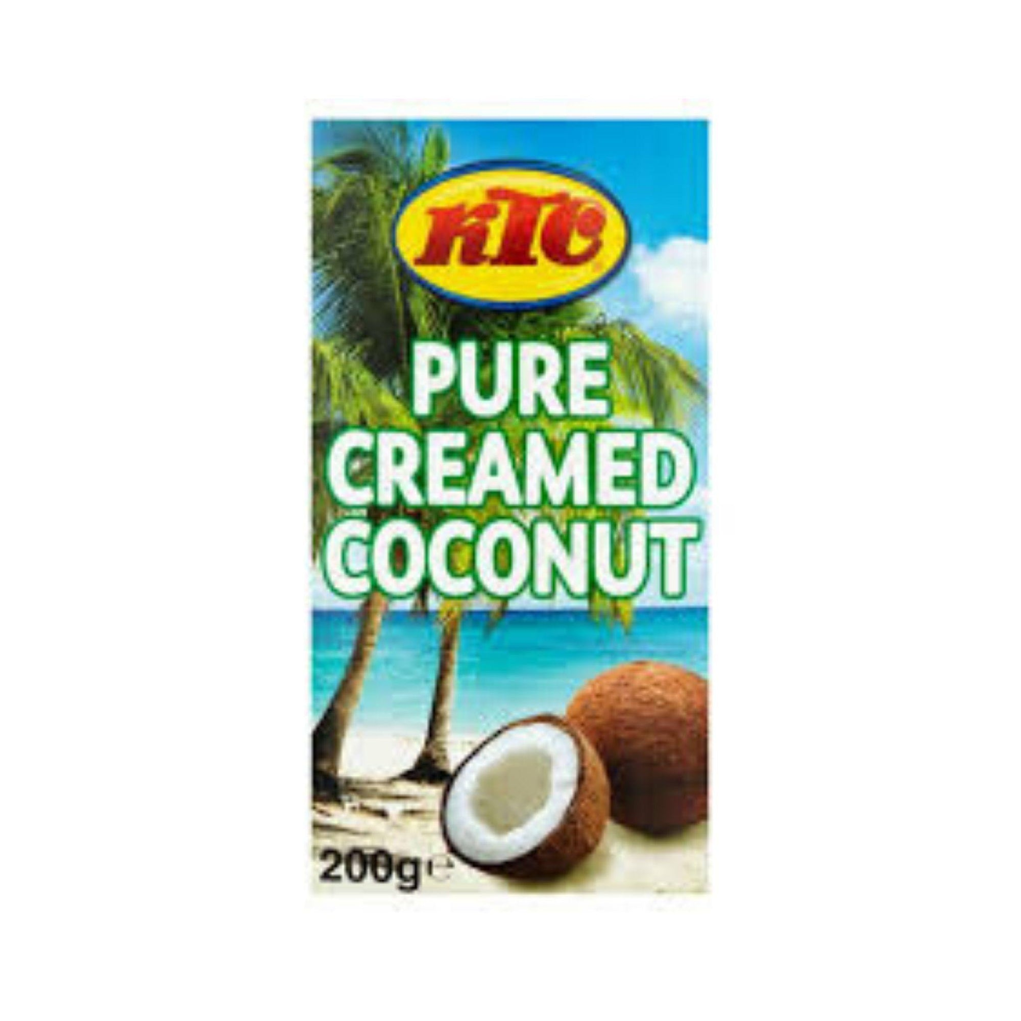 KTC Creamed Coconut 198G - Asian Harvest