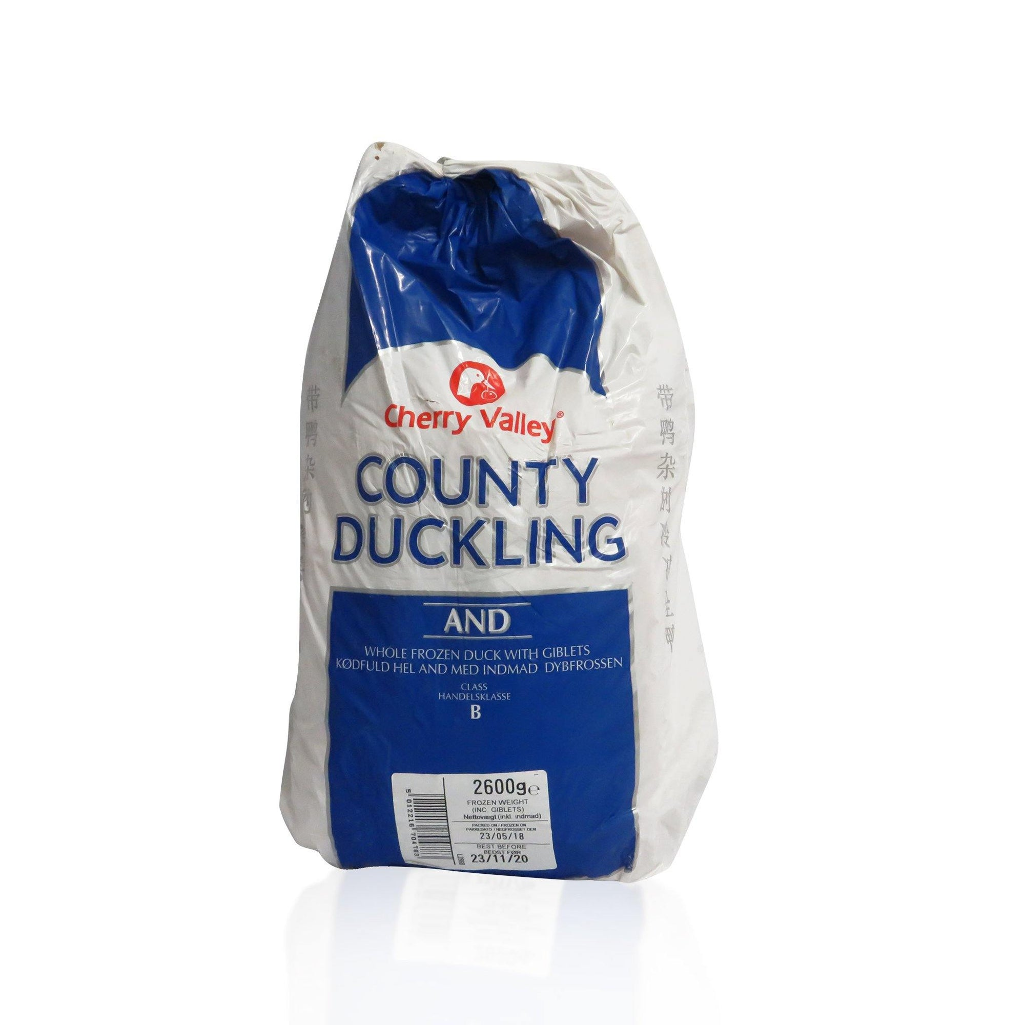 Lincoln County Frozen Whole Raw Duck 2.6KG - Asian Harvest