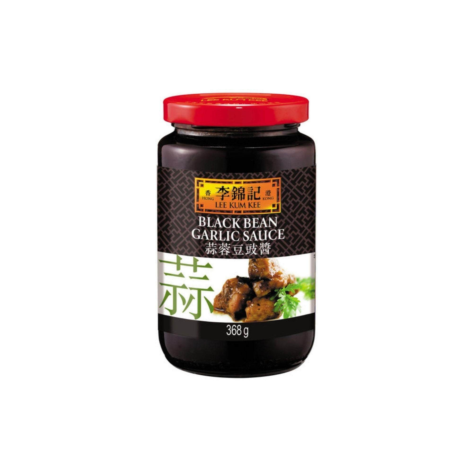 LKK Black Bean And Garlic Sauce 368G - Asian Harvest