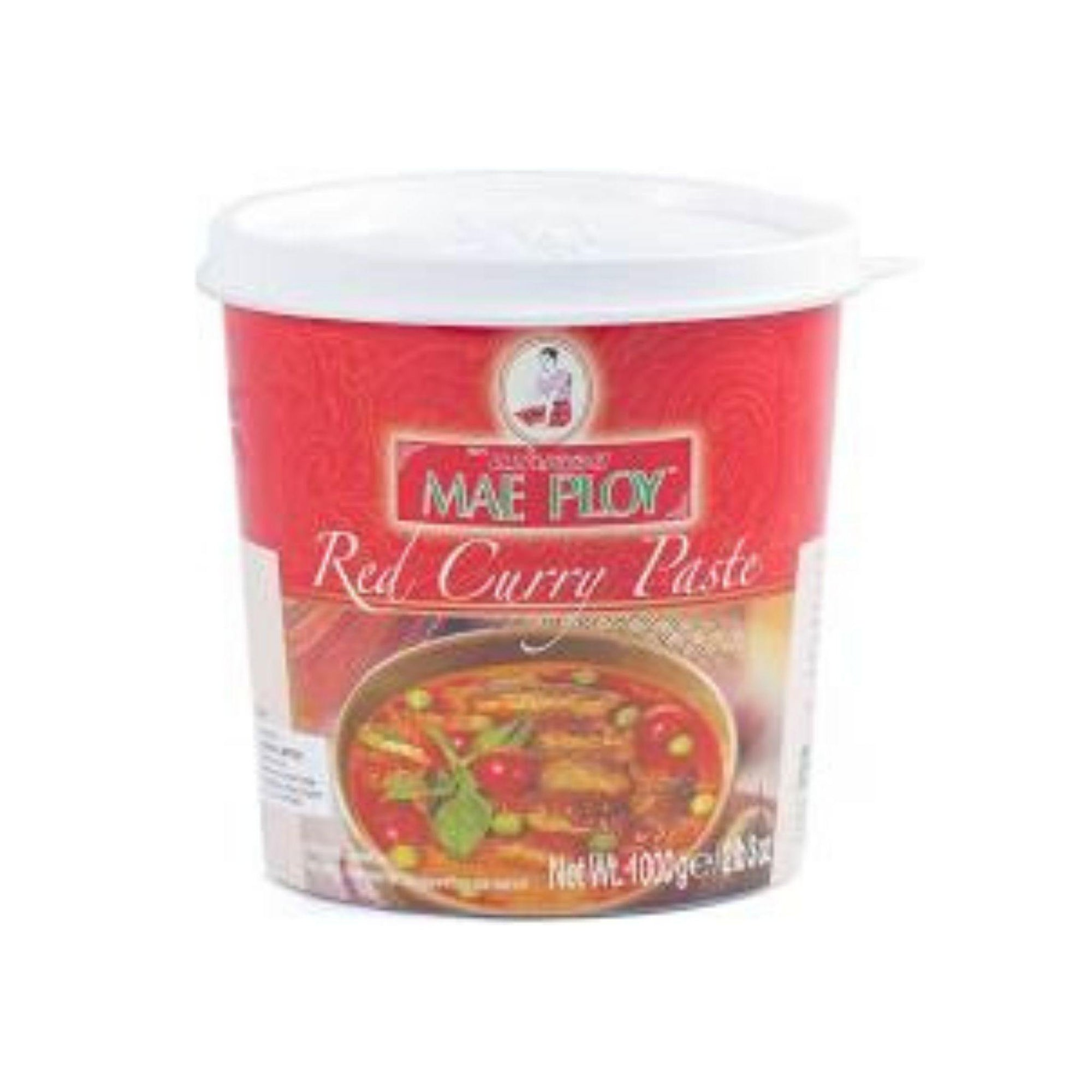 Mae Ploy Red Curry Paste 1KG - Asian Harvest