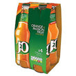 J2O Orange & Passion Fruit Juice Drink 4 X 275Ml
