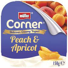 Muller Corner Fruit Peach and Apricot Yoghurt 150g